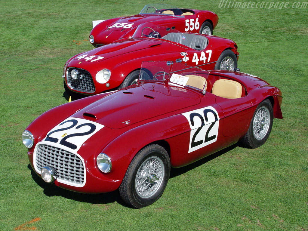 Les grandes Ferrari de l'endurance. Ferrari_166_MM_Touring_Barchetta