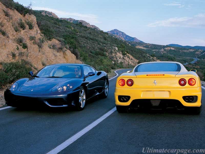Ferrari 360 Modena Yellow. Ferrari 360 Modena Spider